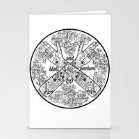 logo Stationery Cards featuring Logo by Dan PeaseIllustration