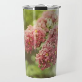 """""""Flowers are restful to look at. They have neither emotions nor conflicts. """" Travel Mug"""