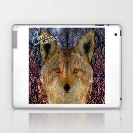 Long Night Coyote Laptop & iPad Skin