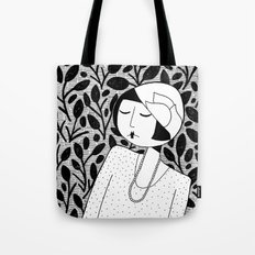 Ramona, lost in thought Tote Bag