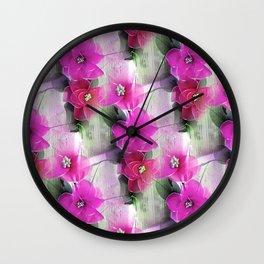 Pink Creations Wall Clock