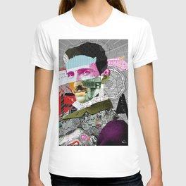 Nikola Portrait Collage Art T-shirt