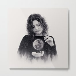 Clair De Lune Metal Print