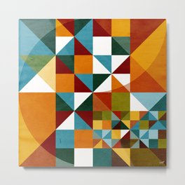 Mosaico 161 Metal Print