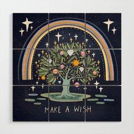 Make a wish Wood Wall Art