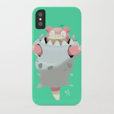 Mega Uncomfortable Slowbro iPhone X Slim Case