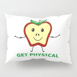 Fitness Apple Pillow Sham