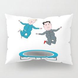 Trump and Kim Jong Un Pillow Sham