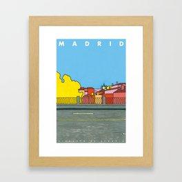 MADRID. VIADUCTO DE SEGOVIA Framed Art Print