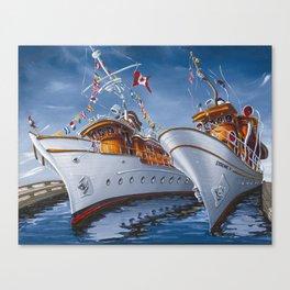 MV Deerleap & Syrene Canvas Print