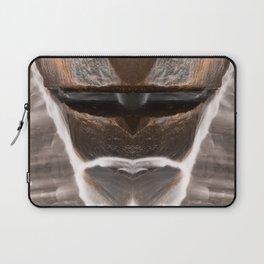 Alien Tribal Mask Laptop Sleeve