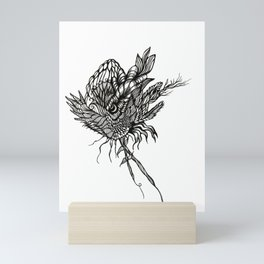 Withered Bloom Mini Art Print