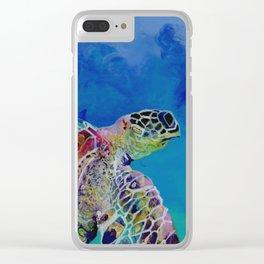 Honu 7 Clear iPhone Case