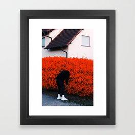 Stay On Your Side Framed Art Print