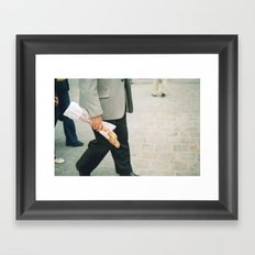 In Paris 2 Framed Art Print