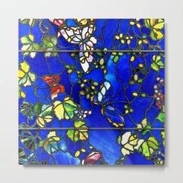 "John La Farge ""Butterflies and Foliage"" window. 1889 (1.) Metal Print"