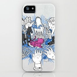 Foul Fingers iPhone Case