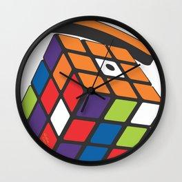 rubic eye Wall Clock