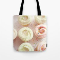 cupcakes Tote Bags featuring Cupcakes by Kim Fearheiley Photography