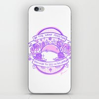 kendrawcandraw iPhone & iPod Skins featuring Be the Shiny by kendrawcandraw