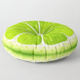 Lime Floor Pillow