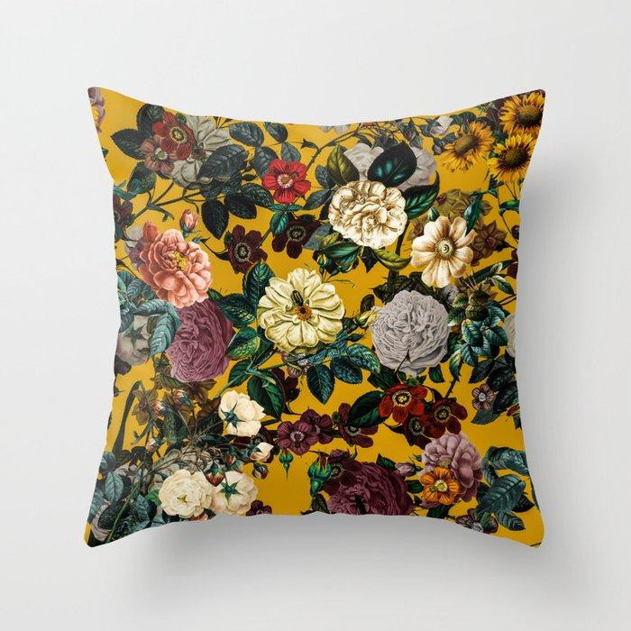Exotic Garden V Throw Pillow