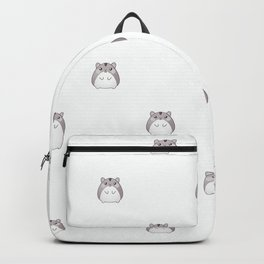 Cute Hamster Pattern Illustration Backpack