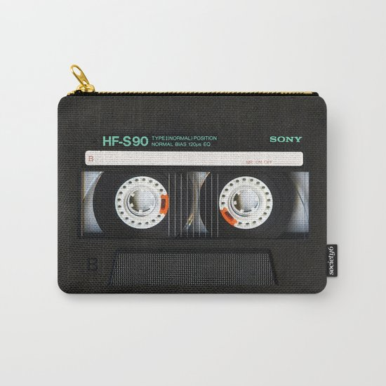 Classic retro sony cassette tape iPhone 4 4s 5 5c, ipod, ipad, tshirt, mugs and pillow case Carry-All Pouch