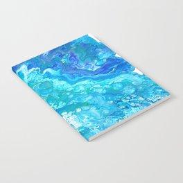 Aqua Ocean Blue Notebook