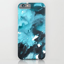 inkblot marble 2 iPhone Case