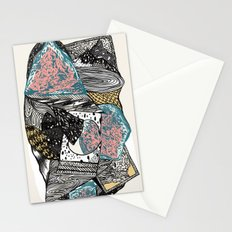 Cosmic geology Stationery Cards