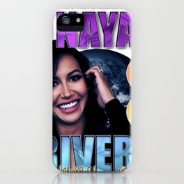 Naya Rivera Rest In Peace RIP Memorial gift iPhone Case
