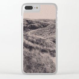 NORDIC DUNES Clear iPhone Case