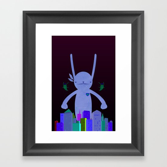 MONSTAA Framed Art Print