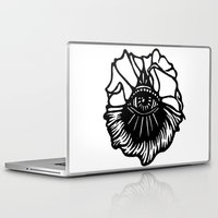 third eye Laptop & iPad Skins featuring Third Eye by Cecile Psicheer
