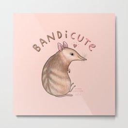 Bandicute Metal Print