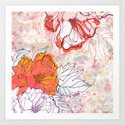 Abstract Floral Illustration by mmartabc