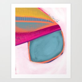 Right About Now Art Print