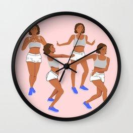 Kiki dance challenge Wall Clock