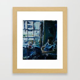 Well Seated No.2 Framed Art Print
