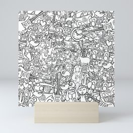 galera Mini Art Print
