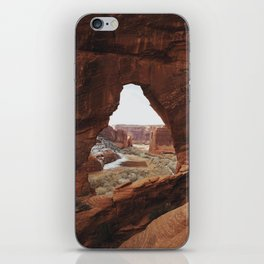 Window Rock iPhone Skin