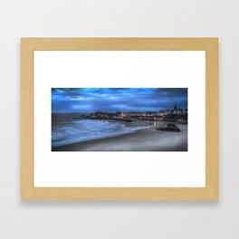 Tenby Harbour early morning Framed Art Print