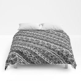Black Panther Tribal Patterns Comforters