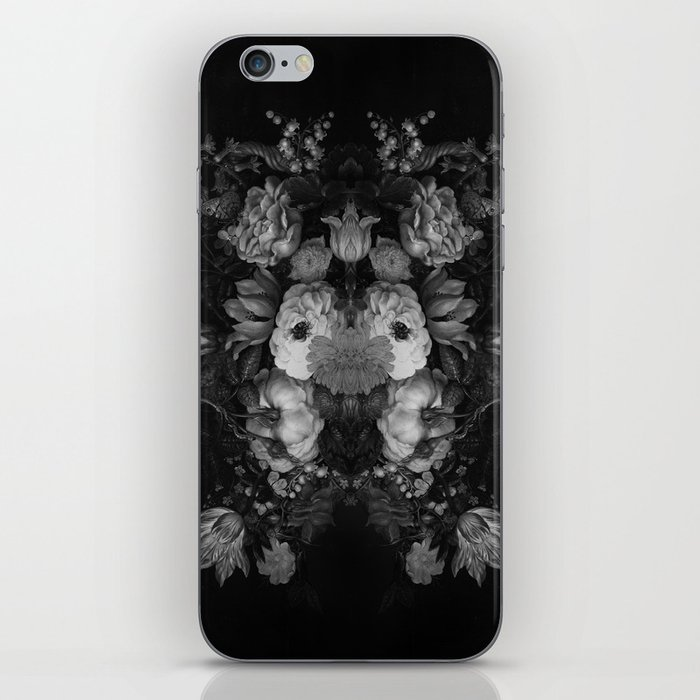Botanical Darkness iPhone Skin