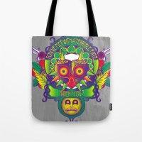 majora Tote Bags featuring Majora Nouveau by Mareve Design