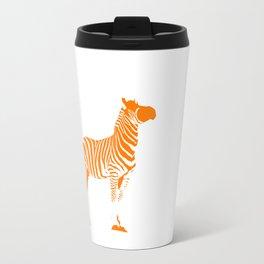 Animals Illustration Zebra Travel Mug