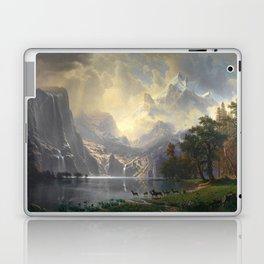 Among the Sierra Nevada California by Albert Bierstadt, 1868 Laptop & iPad Skin