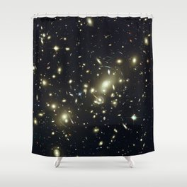 Distant galaxies, Abell 2218. Shower Curtain