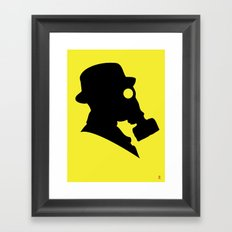 My Dexterous Shadow 4 of 4 Framed Art Print